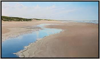 Zon, Wind, Zee | zeegezicht in olieverf van Janhendrik Dolsma | Exclusieve kunst online te koop in de webshop van Galerie Wildevuur