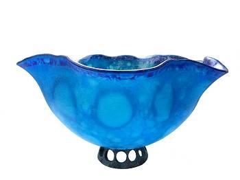 Rhapsody in blue | glassculptuur van Jelle Leek koopt u nu online! ✓Hoogste kwaliteit & service ✓Veilig betalen ✓Gratis verzending