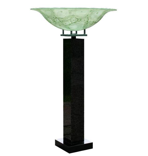 Goblet on pedestal