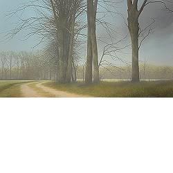 Am Bach entlang II | Landschaft Gemälde von Johan Abeling kaufen Sie jetzt online! ✓Höchste Qualität ✓Sichere Zahlung ✓Kostenloser Versand