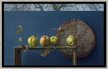 Immanence | stilleven schilderij in olieverf van Joke Frima | Exclusieve kunst online te koop in de webshop van Galerie Wildevuur