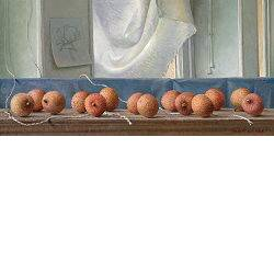 Lychees | still life painting in oil by Joke Frima | Exclusive Dutch Master Art | View and buy the best artworks online now