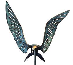 The equilibrium artist | bird sculpture in bronze by Leon Veerman now for sale online! ✓Highest quality & service ✓Safe payment ✓Free shipping