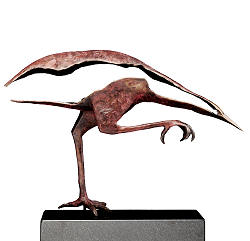 The Silent | animal sculpture in bronze by Leon Veerman now for sale online! ?Highest quality & service ?Safe payment ?Free shipping