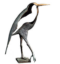 Motionless | animal sculpture in bronze by Leon Veerman now for sale online! ✓Highest quality & service ✓Safe payment ✓Free shipping