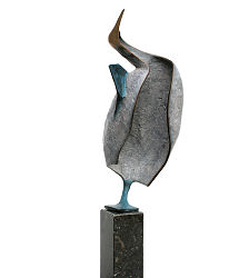 Head worries I | animal sculpture in bronze by Leon Veerman now for sale online! ?Highest quality & service ?Safe payment ?Free shipping