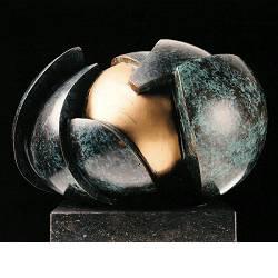 Het begin | natuur beeld in brons van Leon Veerman koopt u nu online!Hoogste kwaliteit & serviceVeilig betalenGratis verzending