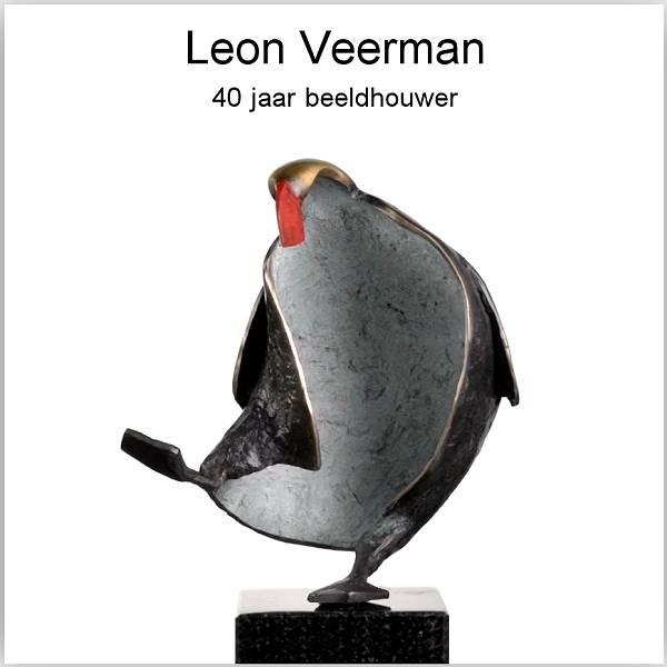 Leon Veerman, sculptor for 40 years