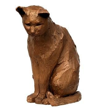 Grote kater | dieren beeld in brons van Maja van Berkestijn koopt u nu online! ✓Hoogste kwaliteit & service ✓Veilig betalen ✓Gratis verzending