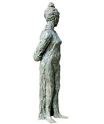 Muse | model sculpture in bronze by Maja van Berkestijn now for sale online! ✓Highest quality & service ✓Safe payment ✓Free shipping