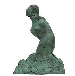 Aphrodite, song of seduction | model sculpture in bronze by Marion Visione now for sale online! ✓Highest quality & service ✓Safe payment ✓Free shipping