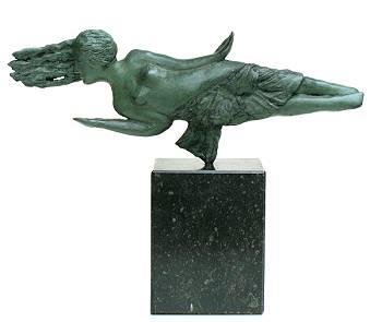 Inspiratie | bronzen beeld van een vrouw van Marion Visione koopt u nu online! ✓Hoogste kwaliteit & service ✓Veilig betalen ✓Gratis verzending
