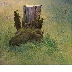 Stronk | landschap schilderij in acrylverf van Peter Durieux koopt u nu online!Hoogste kwaliteit & serviceVeilig betalenGratis verzending