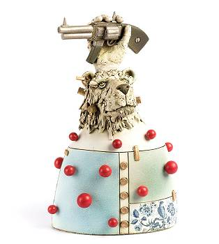 Bad dream | model-mensen beeld in keramiek van Peter Hiemstra koopt u nu online! ✓Hoogste kwaliteit ✓Veilig betalen ✓Gratis verzending