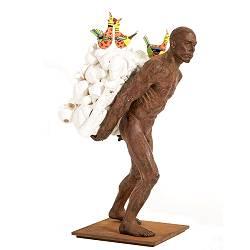China cargo | model-mensen beeld in brons van Peter Hiemstra koopt u nu online! ✓Hoogste kwaliteit & service ✓Veilig betalen ✓Gratis verzending
