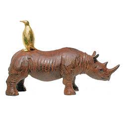 De ontmoeting | dieren beeld in brons van Peter Hiemstra koopt u nu online! ✓Hoogste kwaliteit & service ✓Veilig betalen ✓Gratis verzending