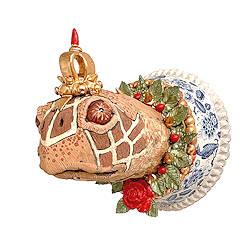 Homo animalis | keramiek sculptuur van Peter Hiemstra koopt u nu online! ✓Hoogste kwaliteit & service ✓Veilig betalen ✓Gratis verzending