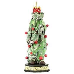 Green manalishi | keramiek sculptuur van Peter Hiemstra koopt u nu online! ✓Hoogste kwaliteit & service ✓Veilig betalen ✓Gratis verzending
