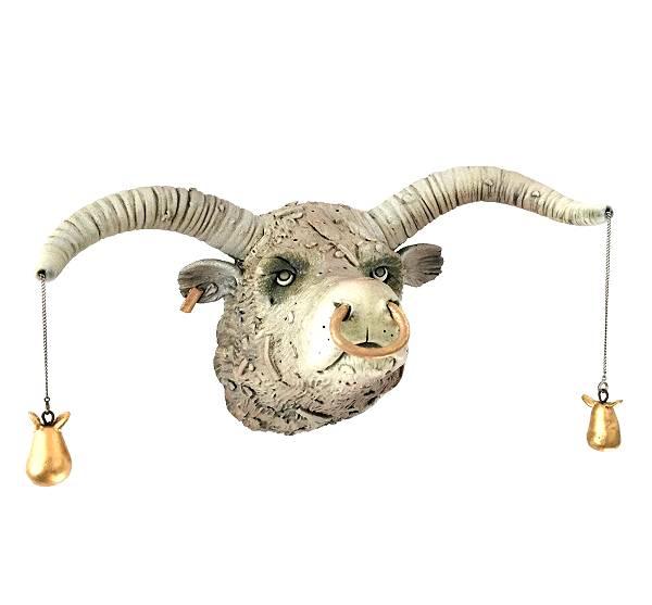 Stier met gouden peertjes