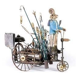 Ghostbuster | keramiek sculptuur van Peter Hiemstra koopt u nu online! ✓Hoogste kwaliteit & service ✓Veilig betalen ✓Gratis verzending