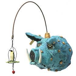 IJsbeer met cobravogel | keramiek sculptuur van Peter Hiemstra koopt u nu online! ?Hoogste kwaliteit ?Veilig betalen ?Gratis verzending