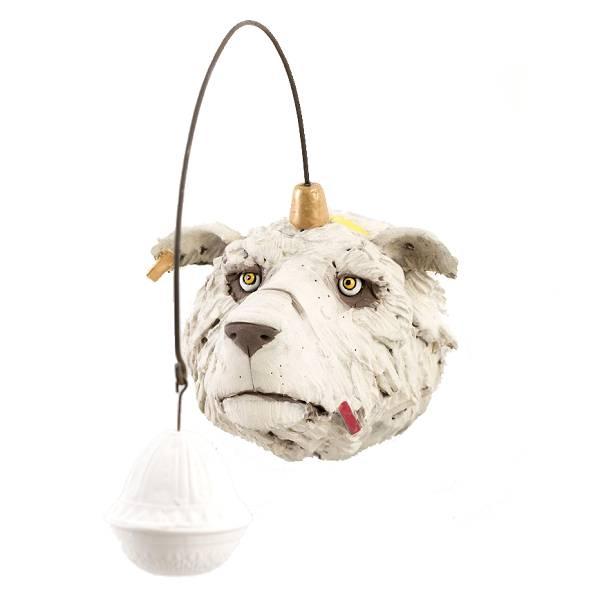 IJsbeer met lampje