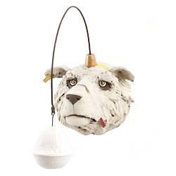 IJsbeer met lampje | dieren beeld in keramiek van Peter Hiemstra koopt u nu online! ✓Hoogste kwaliteit ✓Veilig betalen ✓Gratis verzending