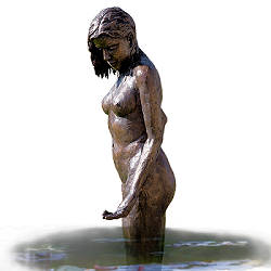 June | sculpture of a bathing woman in bronze by Romee Kanis now for sale online! ?Highest quality & service ?Safe payment ?Free shipping