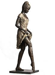 Spring | model sculpture in bronze by Romee Kanis now for sale online! ?Highest quality & service ?Safe payment ?Free shipping