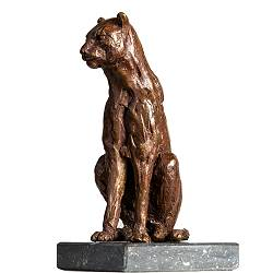 Puma | bronze animal sculpture by Romee Kanis now for sale online! ✓Highest quality & service ✓Safe payment ✓Free shipping