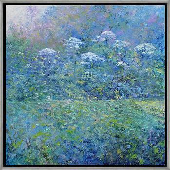 Heidelandschap | landschap schilderij in olieverf van Ronald Soeliman koopt u nu online! ✓Hoogste kwaliteit ✓Veilig betalen ✓Gratis verzending