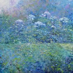 Bereklauw | landschap schilderij in olieverf van Ronald Soeliman | Exclusieve kunst online te koop in de webshop van Galerie Wildevuur