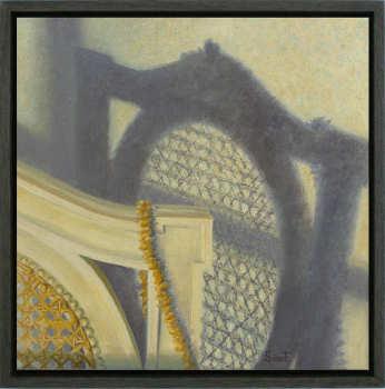 Afbeelding | schilderij van een interieur in olieverf van Sara van Epenhuysen koopt u nu online! ✓Veilig betalen ✓Gratis verzending