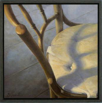 Samenspel I | schilderij van een interieur in olieverf van Sara van Epenhuysen koopt u nu online! ✓Veilig betalen ✓Gratis verzending