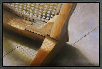 Dimensies | schilderij van een interieur in olieverf van Sara van Epenhuysen koopt u nu online! ✓Veilig betalen ✓Gratis verzending