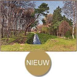 Landgoed Sol | landschaft Gemälde in Holzschnitt von Siemen Dijkstra kaufen Sie jetzt online! ✓Höchste Qualität ✓Sichere Zahlung ✓Kostenloser Versand