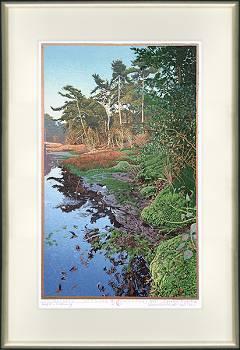 Schurenberg   landschap in houtsnede van Siemen Dijkstra koopt u nu online! ✓Hoogste kwaliteit & service ✓Veilig betalen ✓Gratis verzending