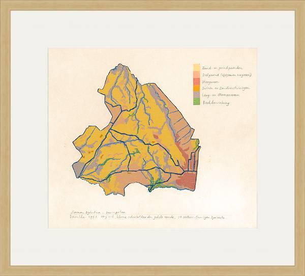 Grondkaart Drenthe