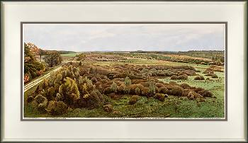 Oelmers | landscape in watercolor by Siemen Dijkstra now for sale online!Highest quality & serviceSafe paymentFree shipping