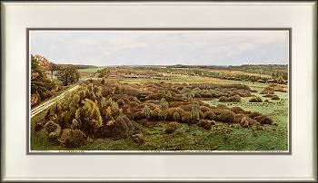 Oelmers | landschap in aquarel van Siemen Dijkstra koopt u nu online!Hoogste kwaliteit & serviceVeilig betalenGratis verzending