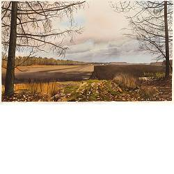 Ellertsveld | landscape in watercolor by Siemen Dijkstra now for sale online!Highest quality & serviceSafe paymentFree shipping