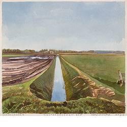 Westerbroeken Elp | landschap in aquarel van Siemen Dijkstra koopt u nu online! ✓Hoogste kwaliteit & service ✓Veilig betalen ✓Gratis verzending