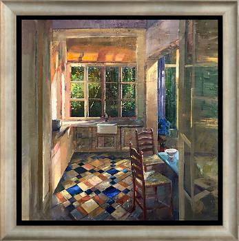 Indian Summer | schilderij van een stilleven in olieverf van Simeon Nijenhuis | Exclusieve kunst online te koop in de webshop van Galerie Wildevuur