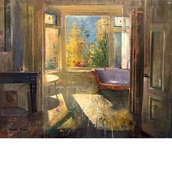 Herfststilleven | schilderij van een stilleven in olieverf van Simeon Nijenhuis | Exclusieve kunst online te koop in de webshop van Galerie Wildevuur