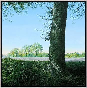 Nostalgische reis over het Veld | landschap schilderij van Wout Wachtmeester koopt u nu online!Hoogste kwaliteitVeilig betalenGratis verzending