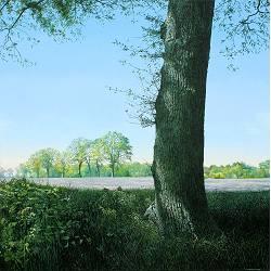 Nostalgische Reise über das Feld | landschaft Gemälde von Wout Wachtmeester kaufen Sie jetzt online!Sichere ZahlungKostenloser Versand